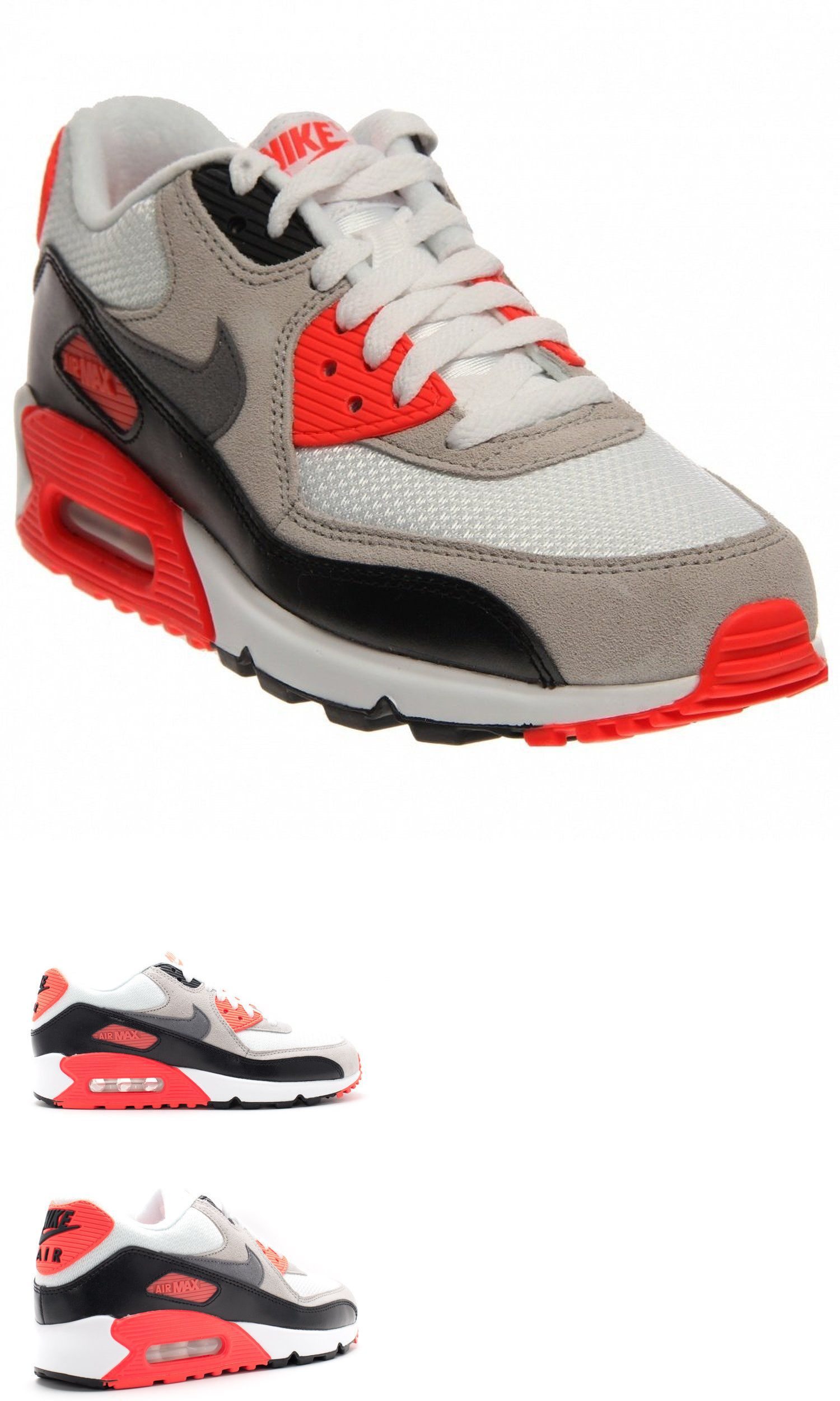 Boys Nike Air Max 90 Cool Grey | C.S.A.L.