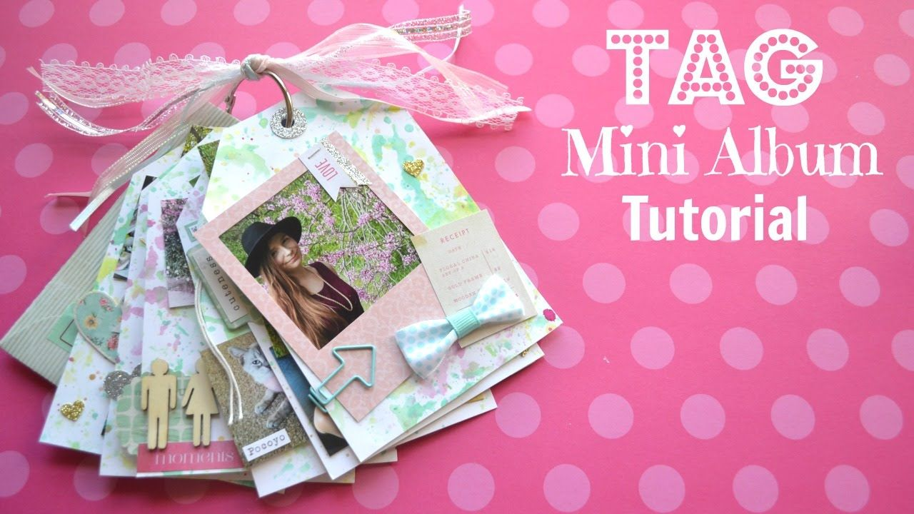 Hello lovelies today i have a very special tag mini album