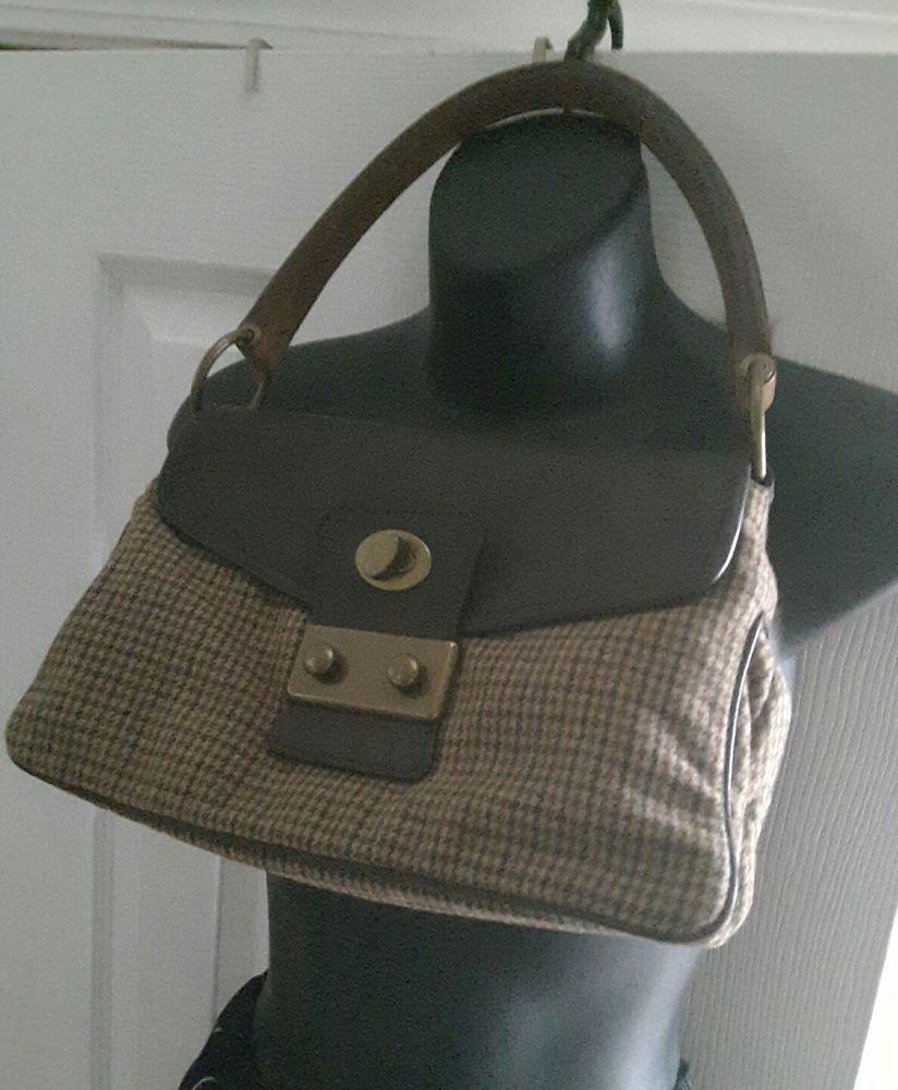 0f752dfc Details about Miu Miu Semitracolla handbag Kavana brown wool ...