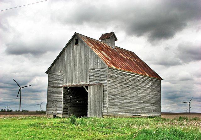 Barn In Central Illinois Old Barns Barn Central Illinois