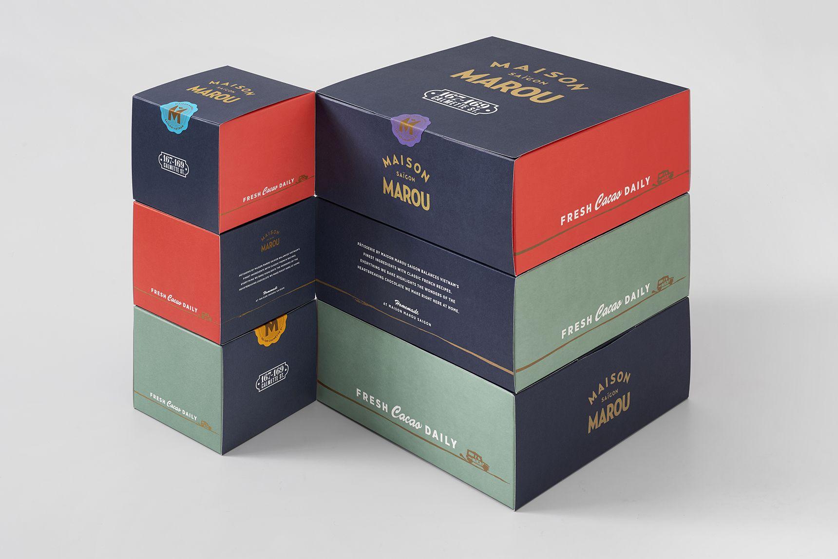 Maison Marou Has Some Elegant Chocolate Packaging Modern Packaging Design Modern Packaging Chocolate Packaging