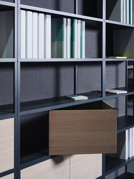 the new order hay exhibitions bookcase shelves. Black Bedroom Furniture Sets. Home Design Ideas