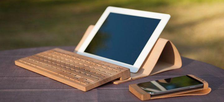 Et si vous échangiez votre clavier en plastique pour un clavier entièrement fait en bois ?