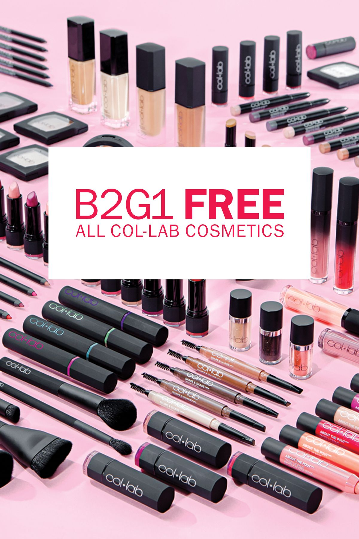 New. Created by Beauty Influencers. COLLAB is B2G1 Free
