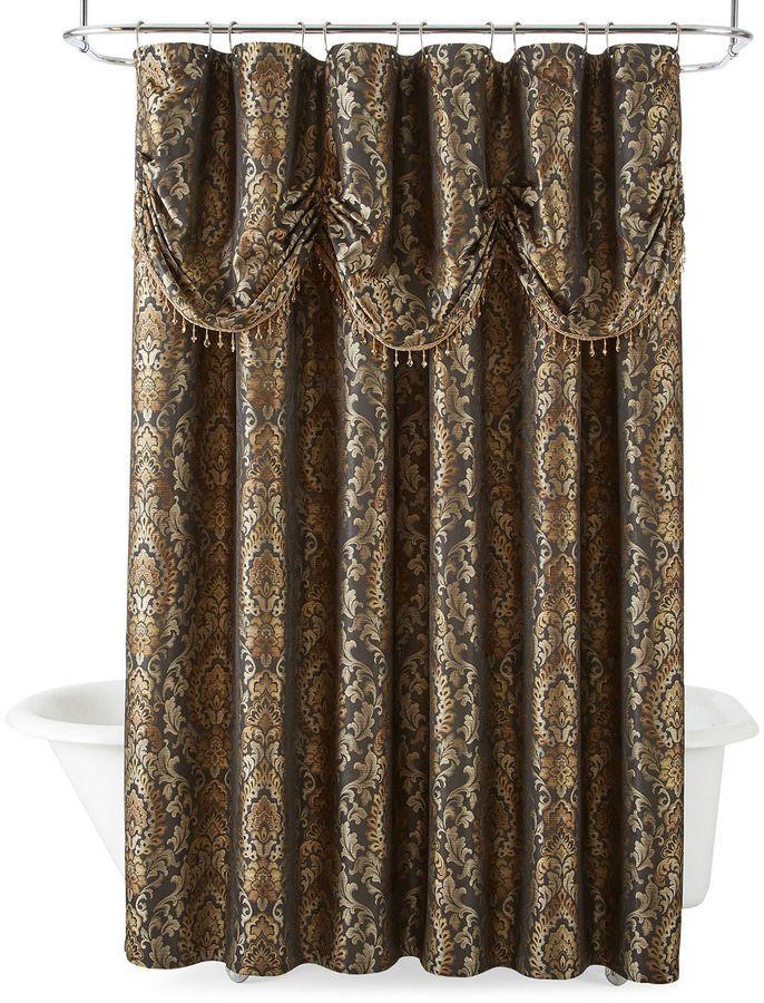 ROYAL VELVET Royal Velvet Madrid Shower Curtain