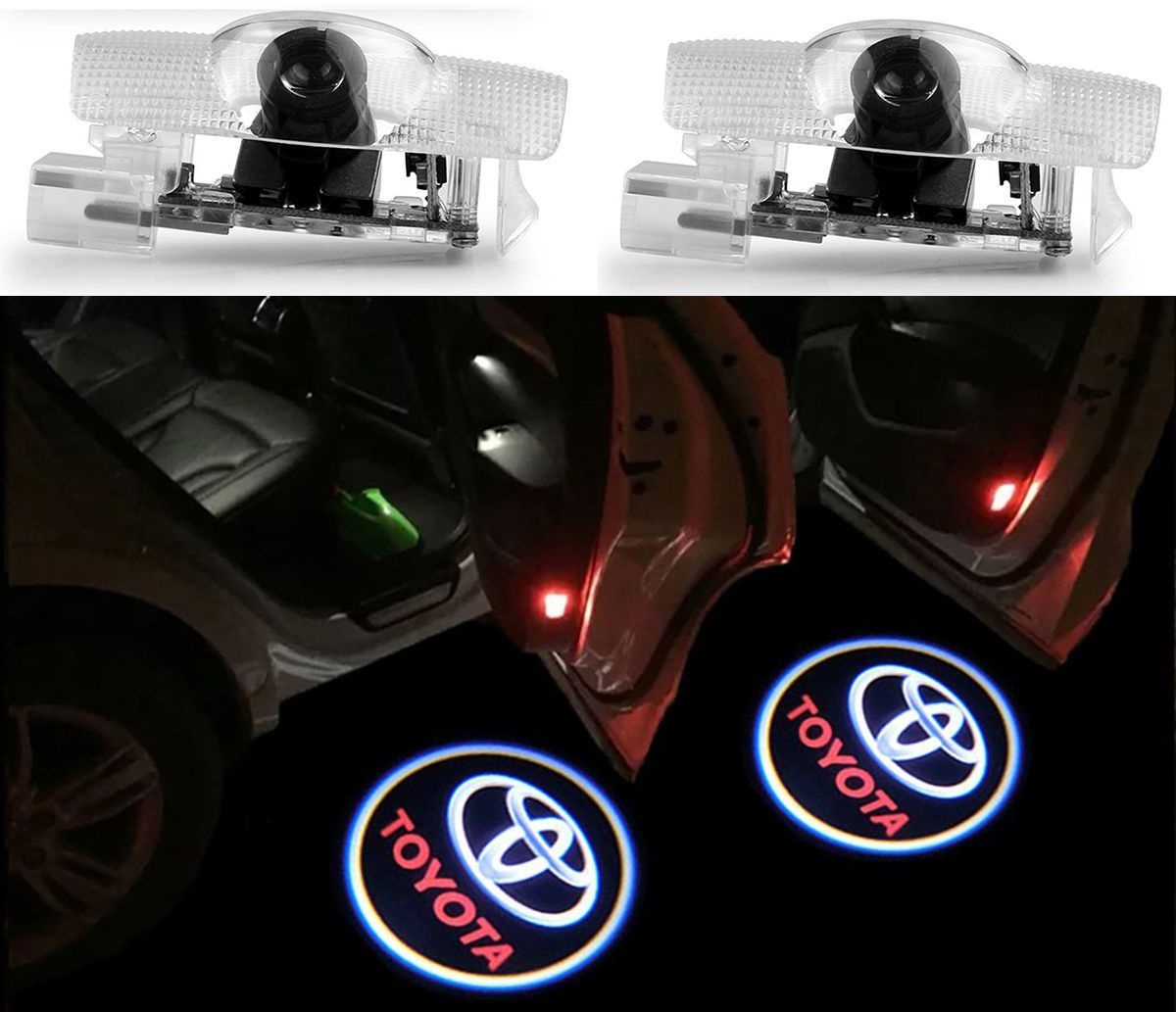 Cool Awesome 2x Ghost LED Door Step Courtesy Shadow Laser
