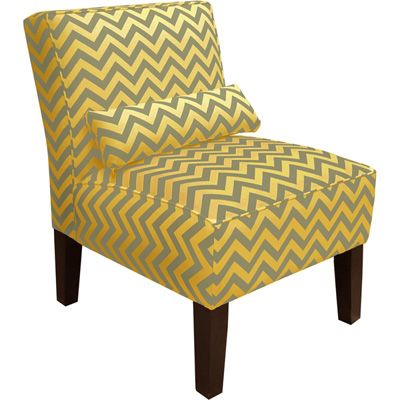 Upholstered Dining Chairs Ingray And Yellow Armless