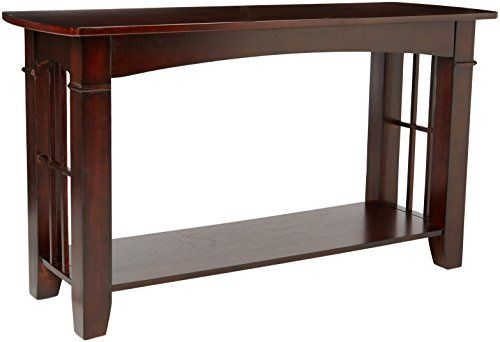 Fantastic Coaster Antique Country Style Sofa Table Cherry Finish Gmtry Best Dining Table And Chair Ideas Images Gmtryco