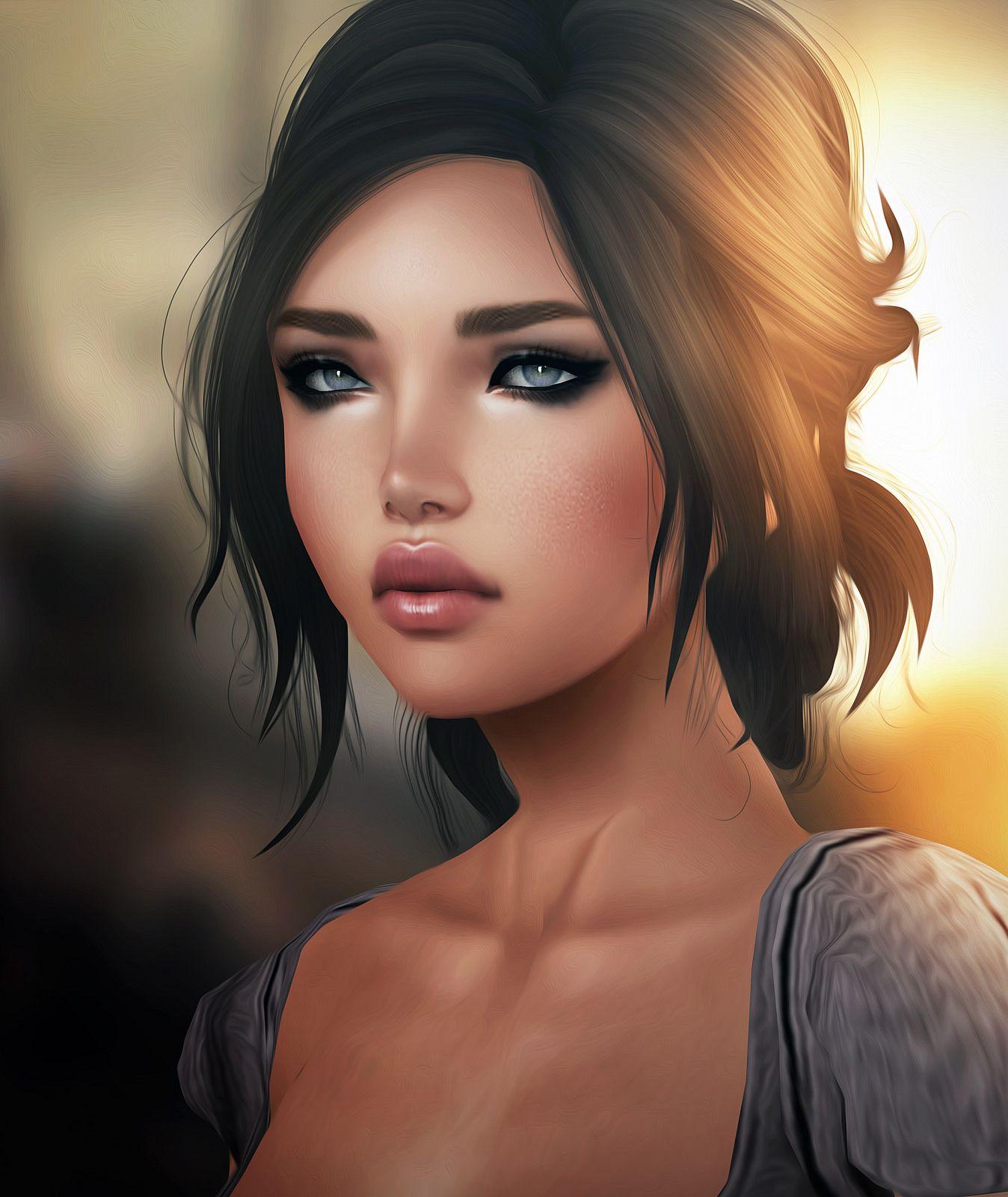 Avatar Woman: Avatar Second Life