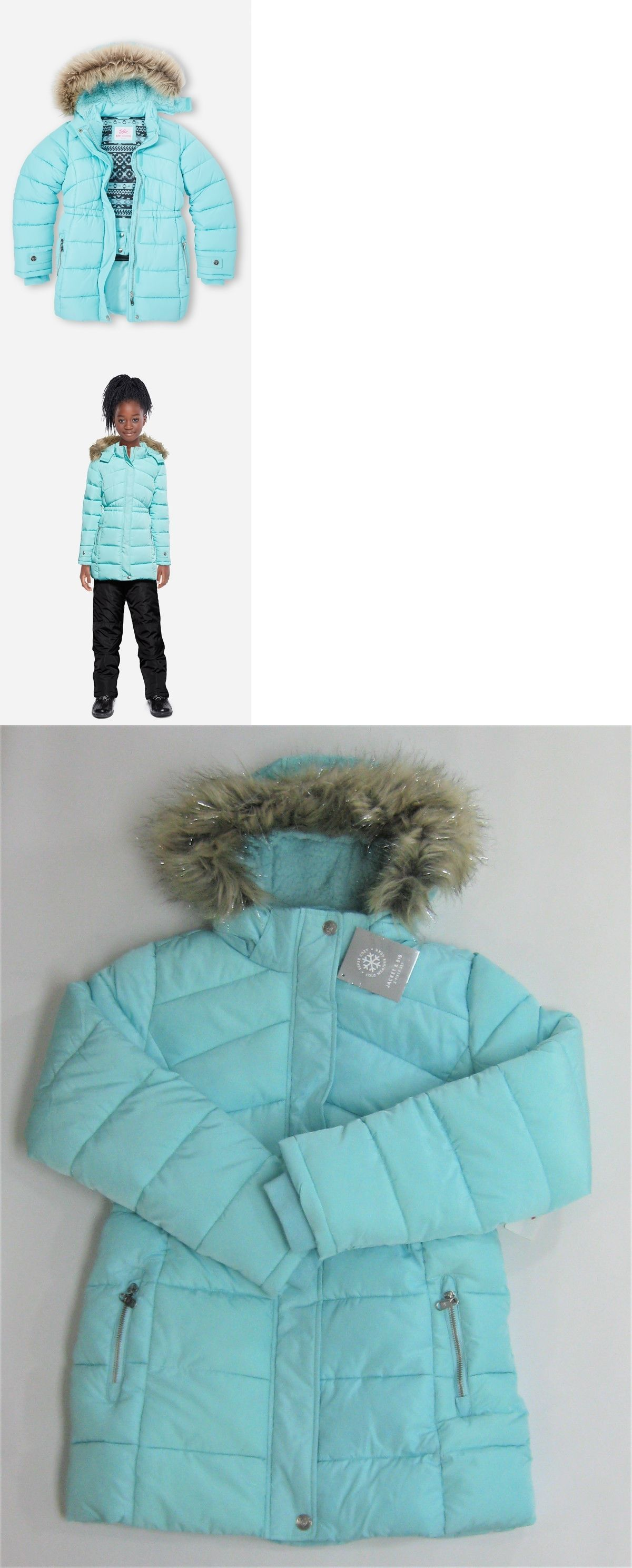 55f7479742b3 Outerwear 51580  Nwt Justice Kids Girls Size 8 10 Or 20 Blue Hooded ...