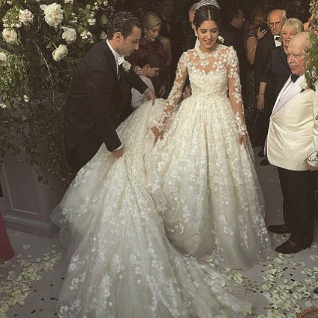 The Most Fashionable Weddings of 2015 | Giambattista valli, Wedding ...