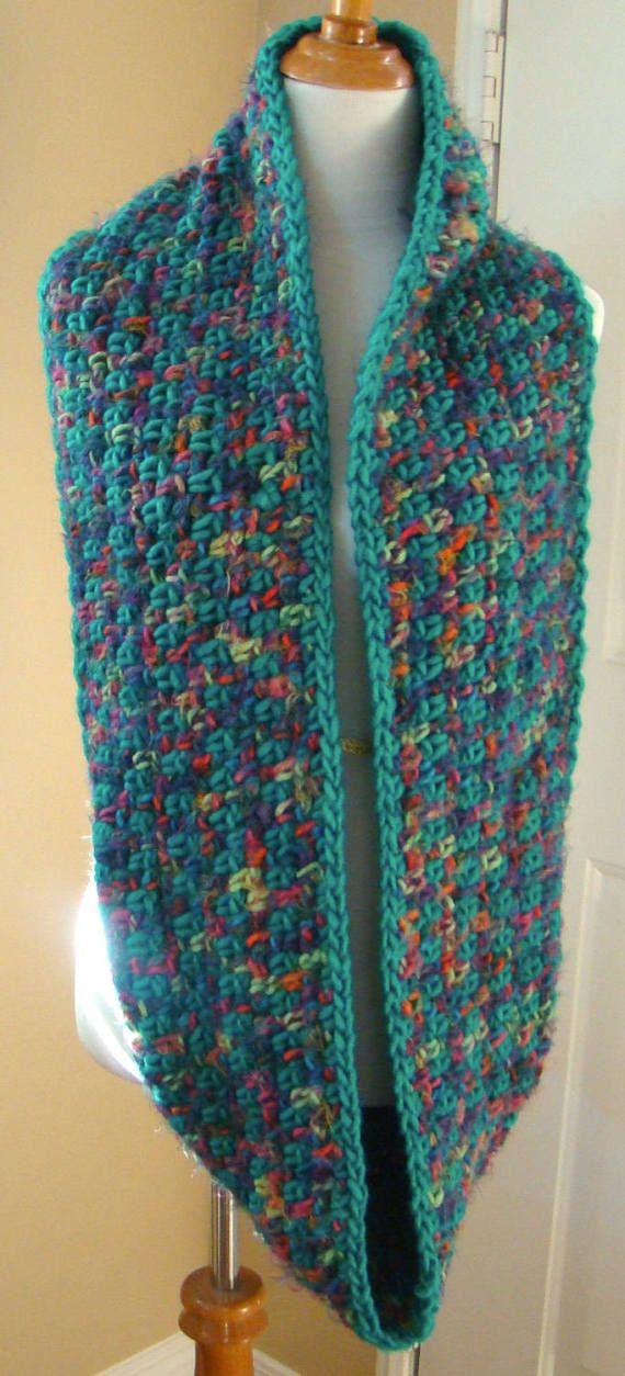 Bufanda de infinito infinito de Crochet bufanda Aspen | Patrones ...