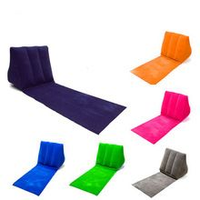 Outdoor Sports Popular Design Wedge Pillow Beach Towel Inflatable For Travel