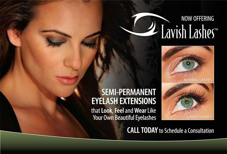 Lavish Lashes Eyelash Extensions Lavish Lashes Advertising