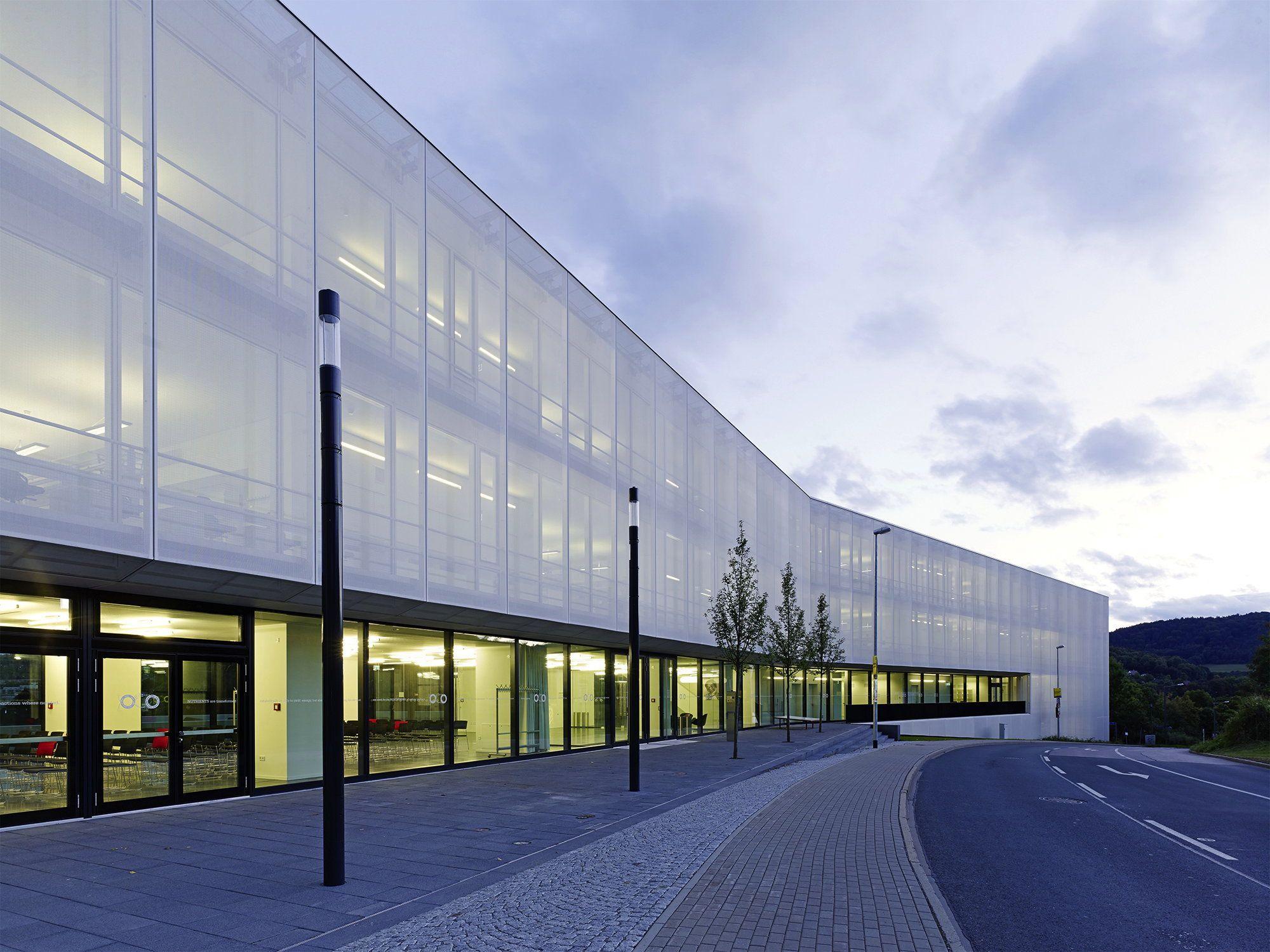 Architekten Jena ungewohnt aufgeräumt institut in jena facades architecture and