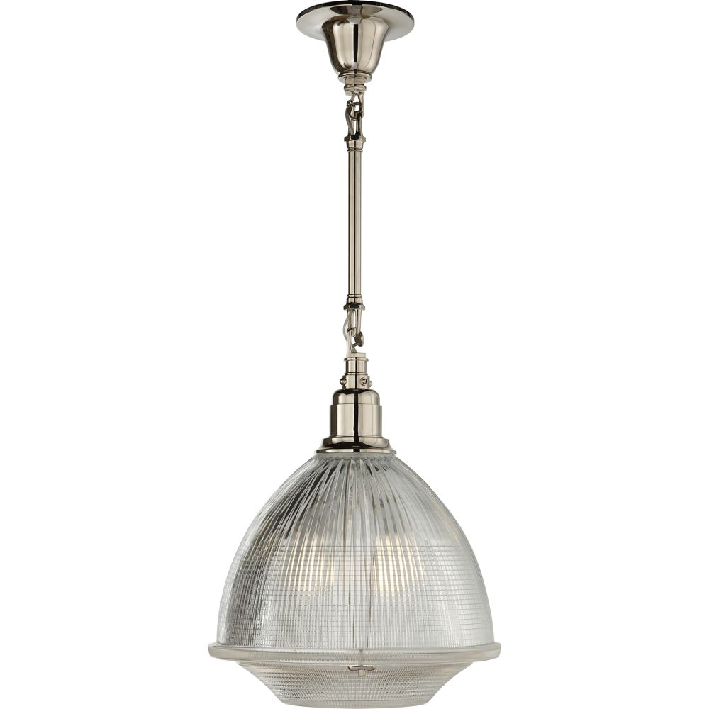 Visual comfort thomas oubrien garey large single light in polished
