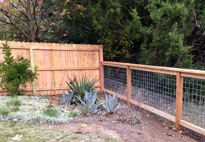 6ft cedar privacy fence to 4ft cattle panel fence find for Cheap tall privacy fence