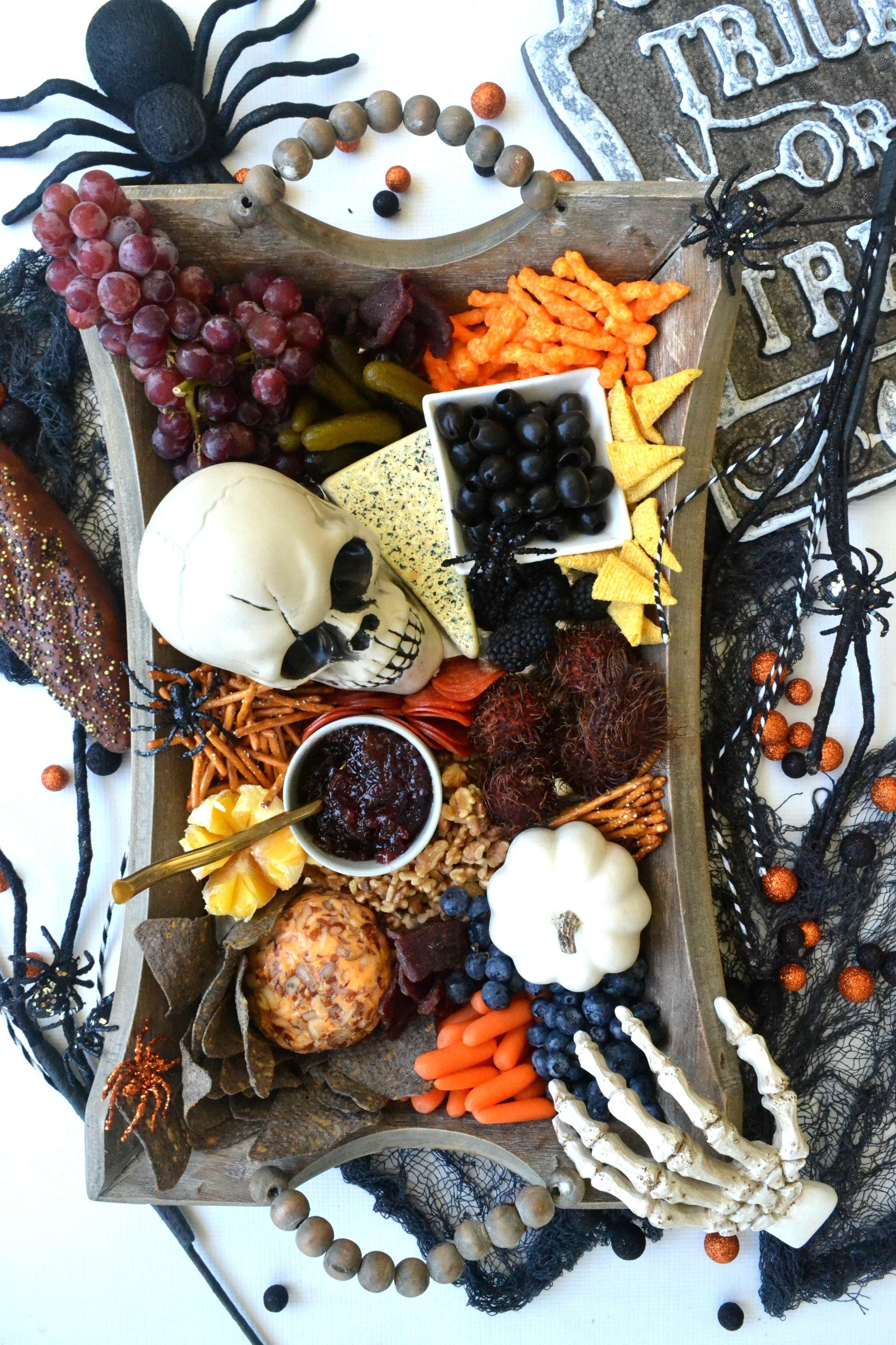 The Ultimate Halloween Charcuterie Board Halloween food
