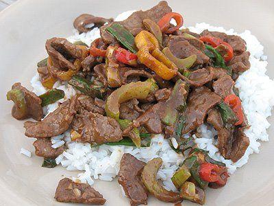 Mongolian Beef - Amanda's Cookin'