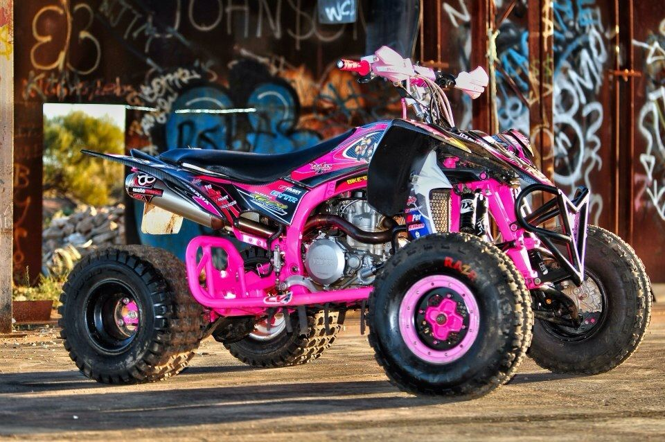 pink atv maddie kibbee motocross atv riding gear atv. Black Bedroom Furniture Sets. Home Design Ideas