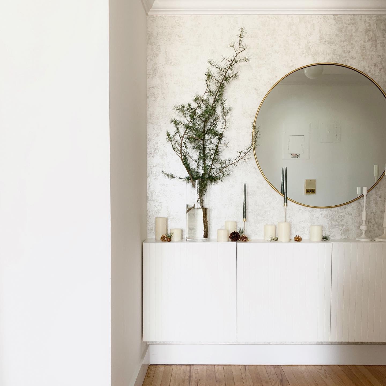 Distressed gold leaf Silver removable wallpaper, Living