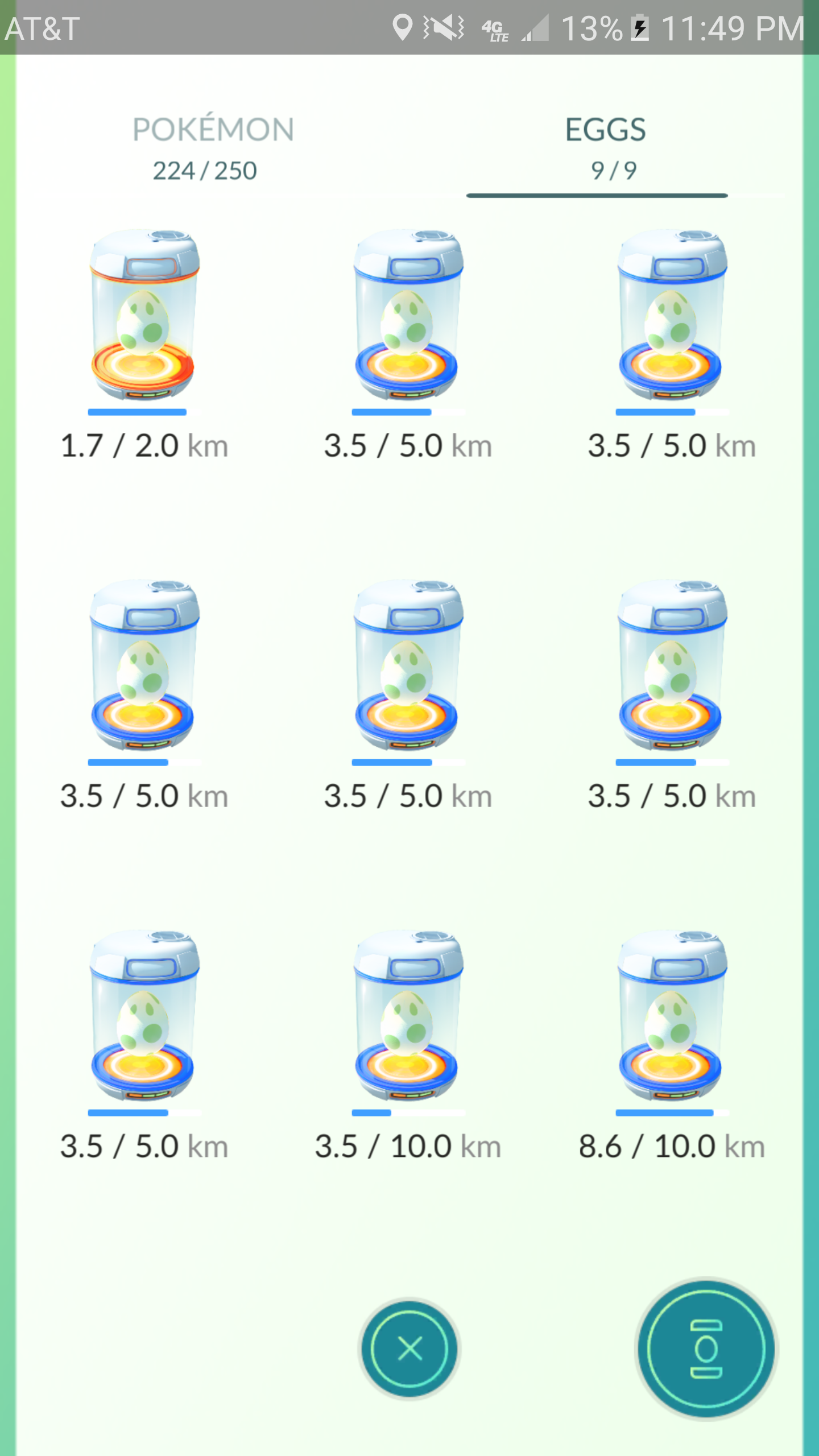 I incubated those 5km eggs in my room and I haven't even left.