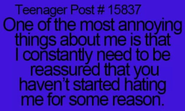 Annoying thing about me