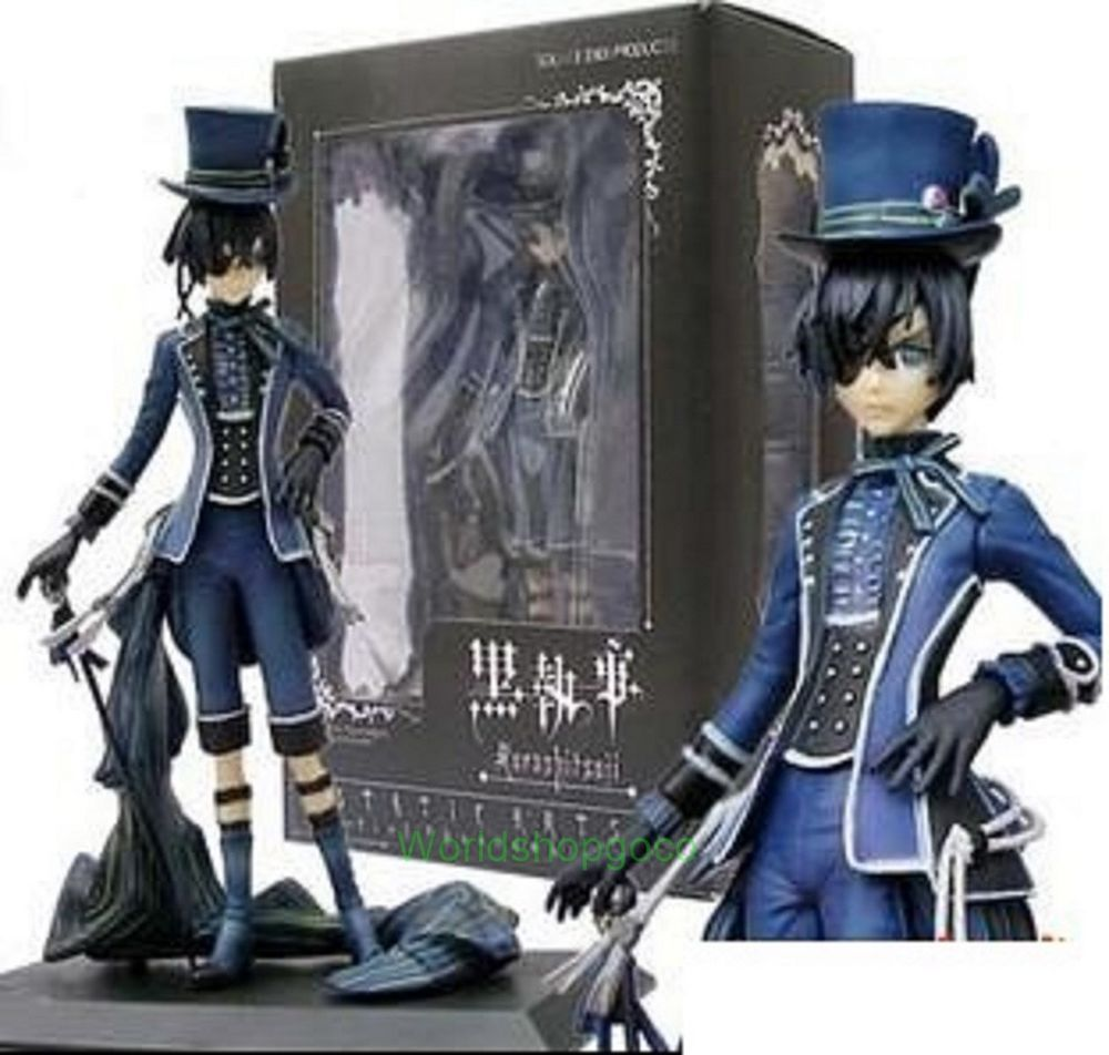 Anime Black Butler Under Taker PVC Action Figure Collect Figurine Toy Gift 25CM