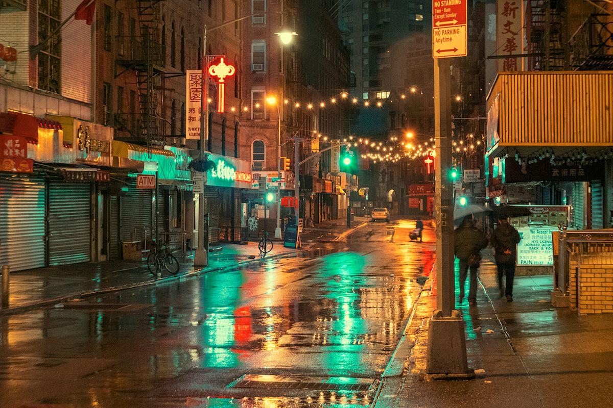 Capturing The Magic Of New York S Chinatown Before Dawn Breaks New York Chinatown New York Photography Chinatown