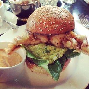 19 Dreamy London Avocado Dishes Avocado Dishes Crab Burger Burger