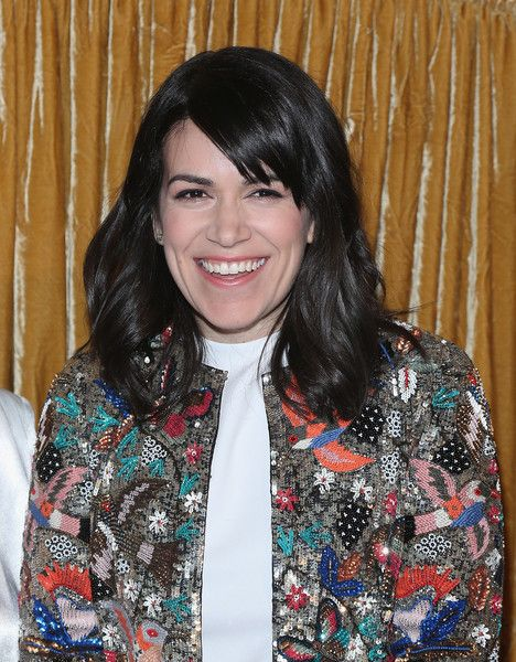 Abbi Jacobson Photos: alice + olivia by Stacey Bendet Fall 2015 Collection Presentation - Arrivals And Backstage