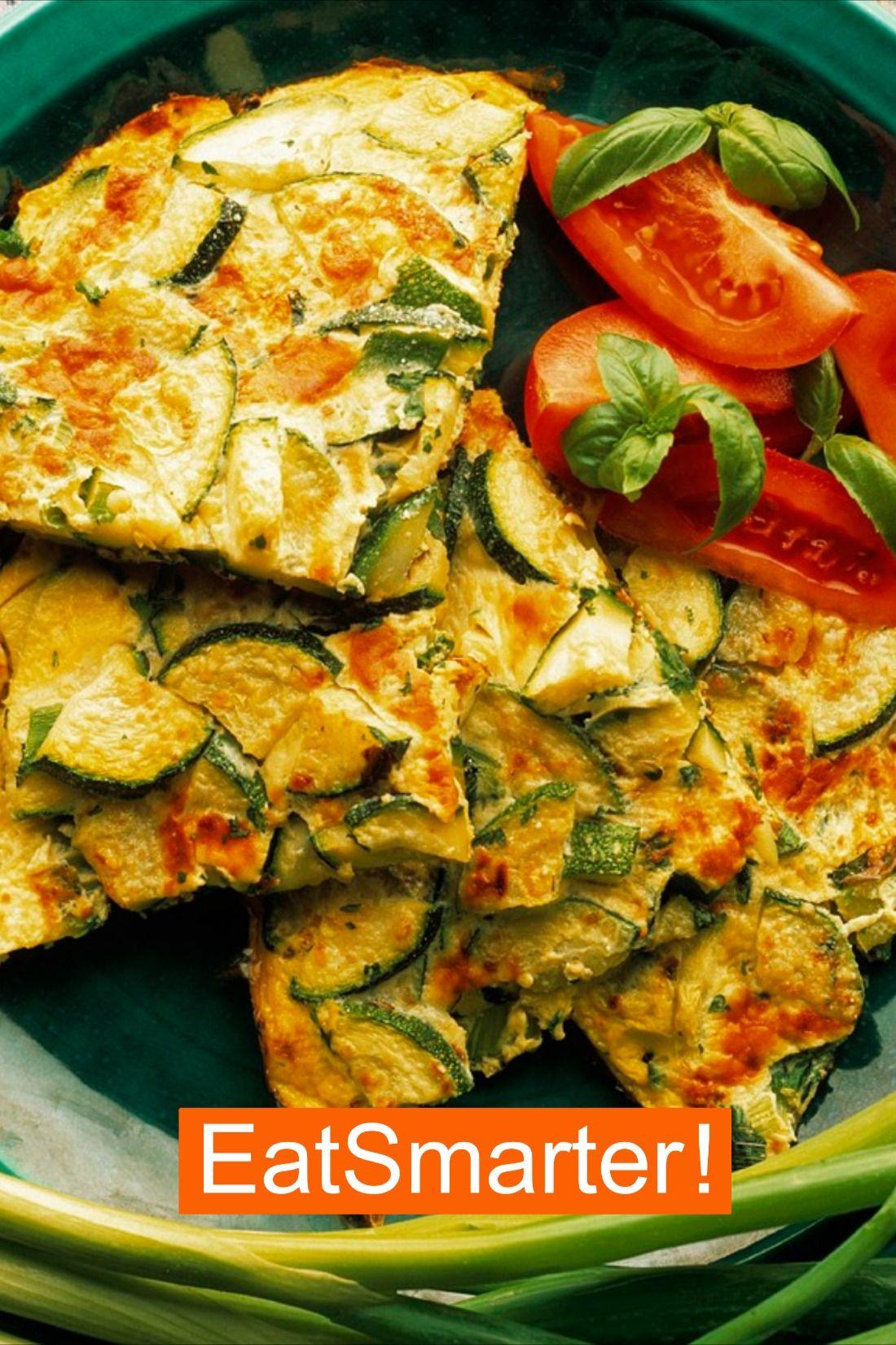 Schnelles Zucchini-Frittata-Rezept | EAT SMARTER