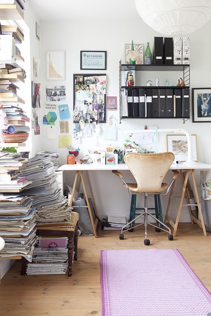 Messy but nice office