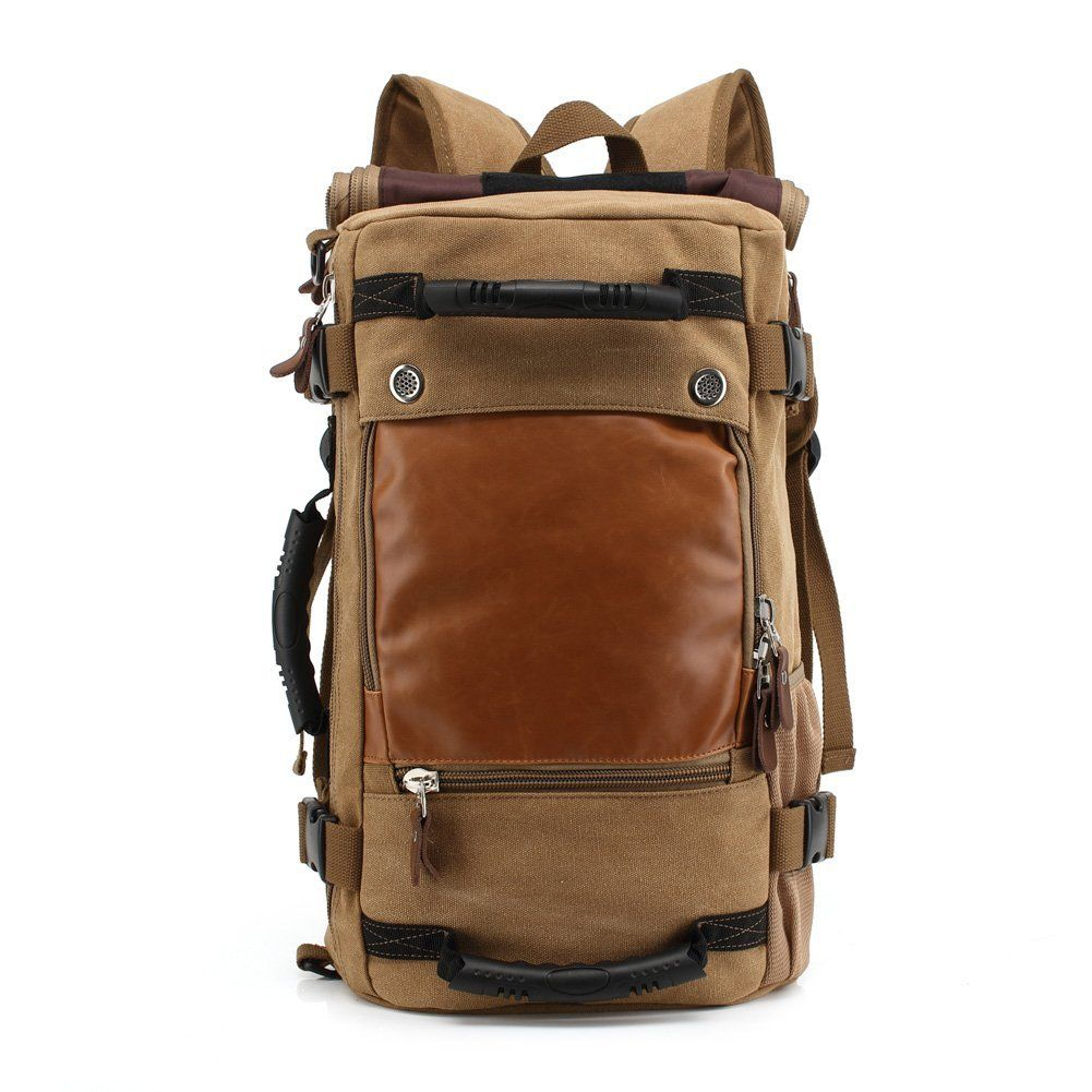 Large Travel Backpack Men/'s Outdoor Sport Canvas Shoulder Bag Rucksack Handbags