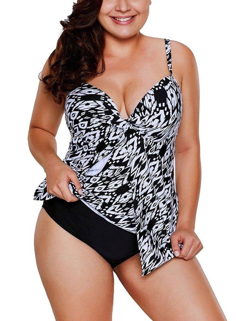 2af4bcbdc8 Lace Flyaway Overlay 2pcs Swimsuit | http://www.aleumdr.com ...