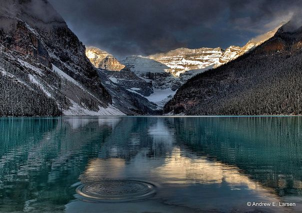 Así lucen las montañas rocosas de Canadá