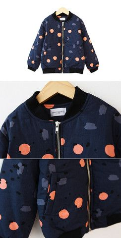 Neon dots bomber Jacket for unisex at colormewhimsy 5