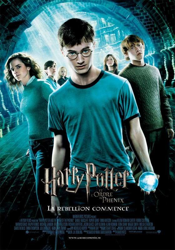 Harry Potter Ordre Des Films : harry, potter, ordre, films, Harry, Potter, L'ordre, Phenix, Potter,, Film,, Poster