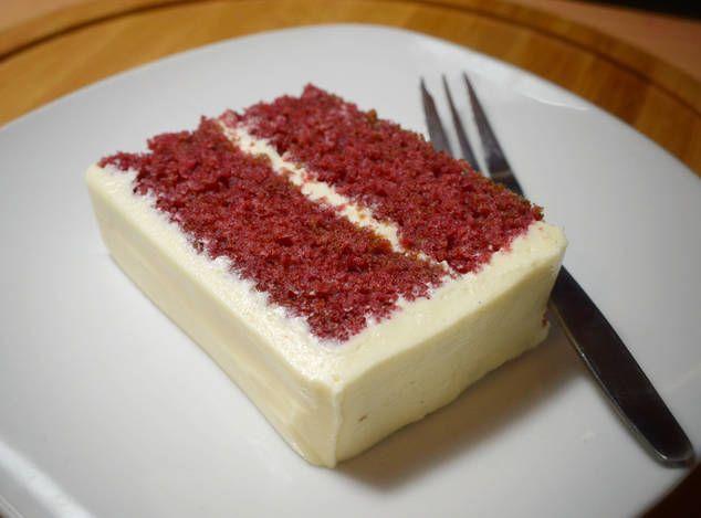 resep red velvet cake oleh mamari resep beludru merah makanan goodies Resepi Kek Birthday Vanilla Enak dan Mudah