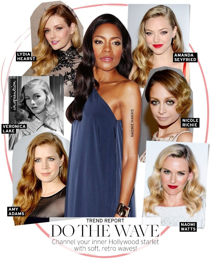 Love retro waves  http://www.whowhatwear.com/beauty/full-article/trend-report-40s-waves/