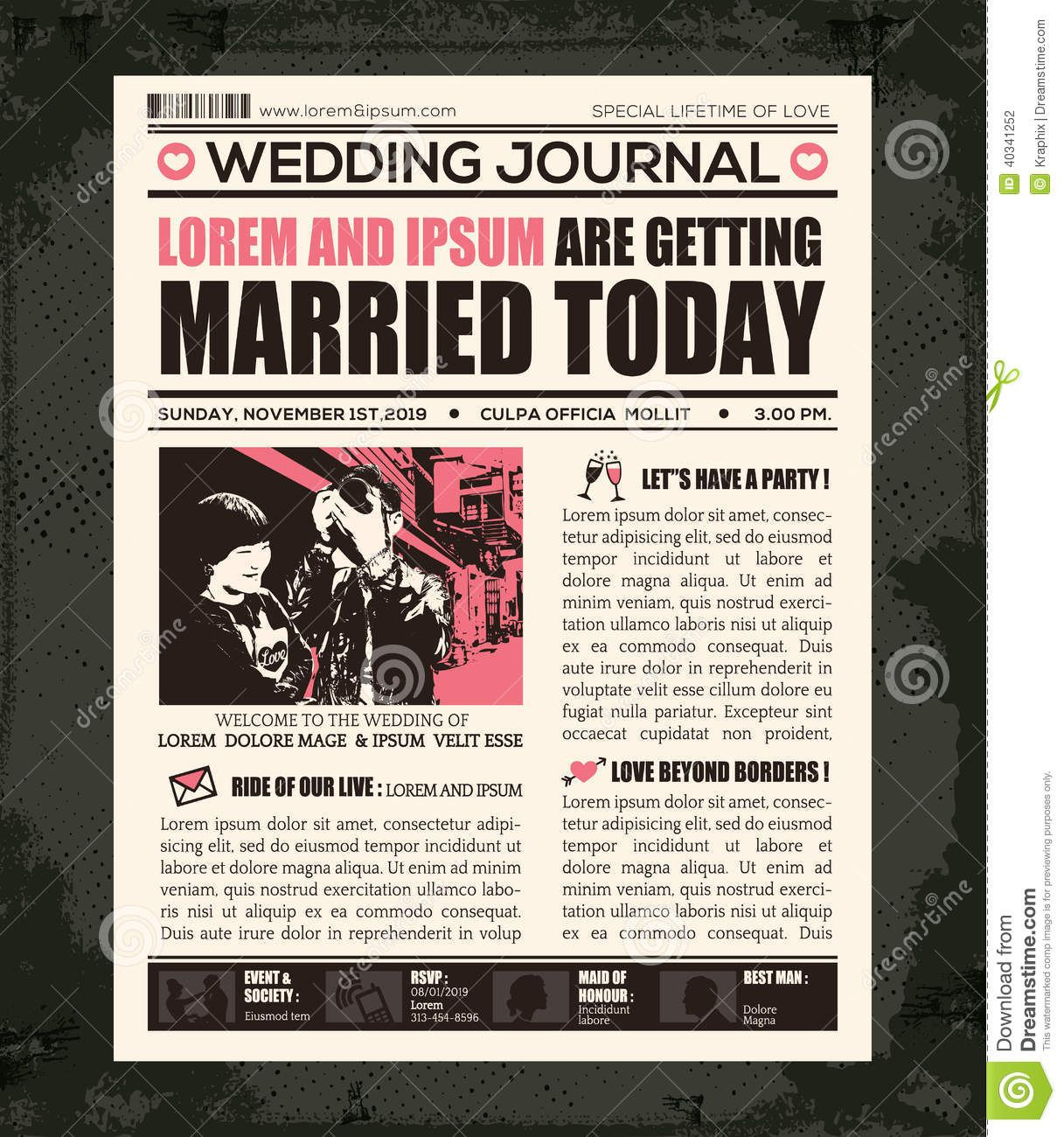 Doc468351 Newspaper Layout Template Editable Newspaper – Newspaper Layout Template