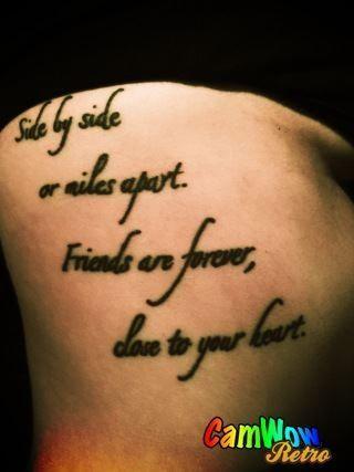 10yr friendship tattoo with the bestie!!   Tatoos   Pinterest ...