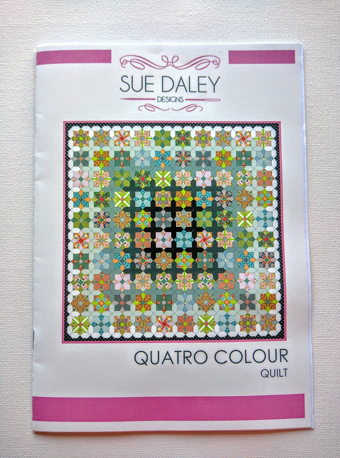 Quatro Colour Quilt- Sue Daley Designs- English Paper Piecing Kit ... : english quilt patterns - Adamdwight.com