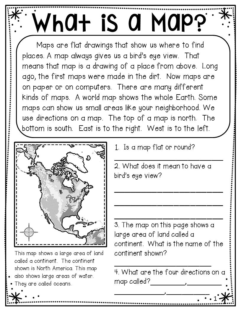 medium resolution of Map skills