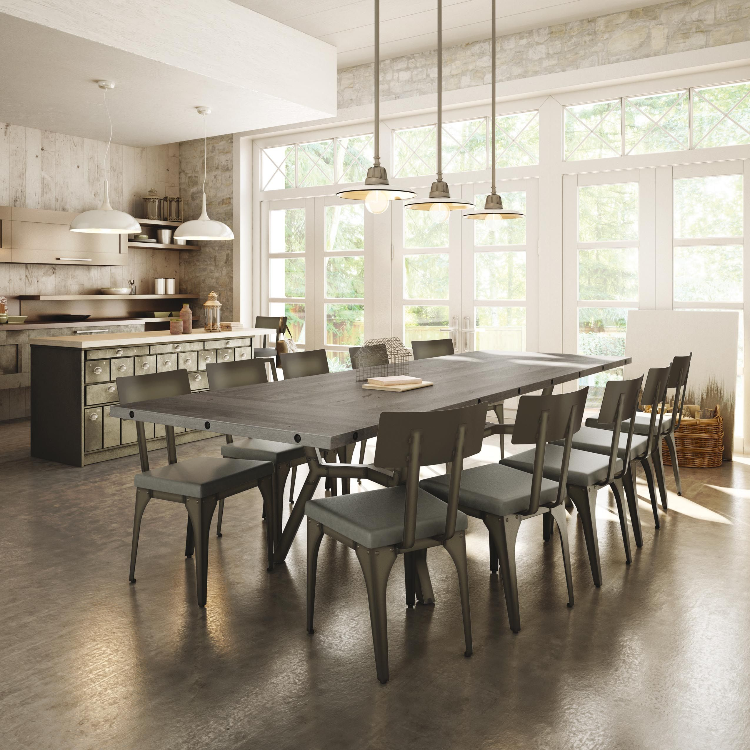 Amisco Southcross Table Base 50567 Architect Chair 30563 Furniture Kitchen Industrial Collect