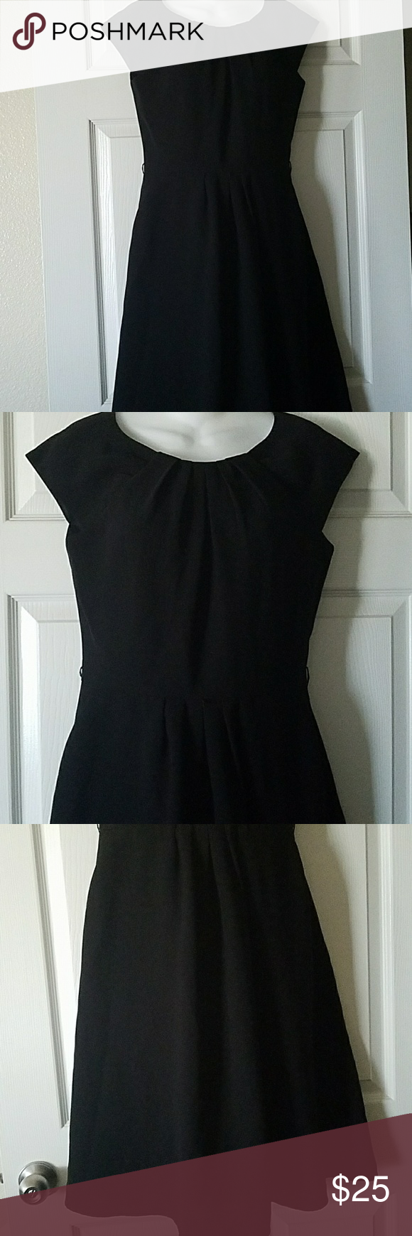 7cc72b1d041 Calvin Klein cocktail black dress size 8 Beautiful cocktail fit and flare black  dress by Calvin Klein in size 8. Excellent condition.