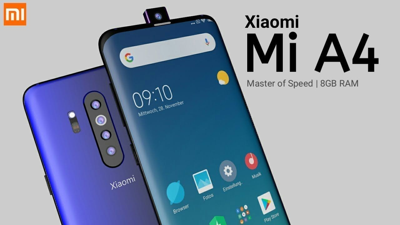 Xiaomi Mi A4 Official Look And Price And Launch Date In India Xiaomi Xiaomi Logo Android One