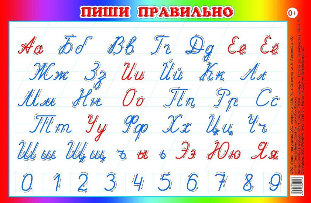 Алфавит. Прописные буквы | Алфавит, Школа и Слог