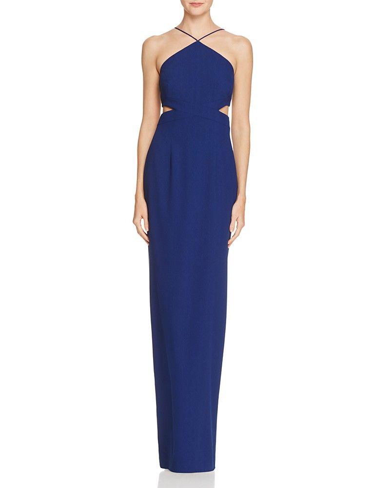 Aidan Aidan Side Cutout Column Dress 100 Exclusive Women Bloomingdale S Prom Dresses Under 200 Column Dress Dresses [ 1000 x 800 Pixel ]