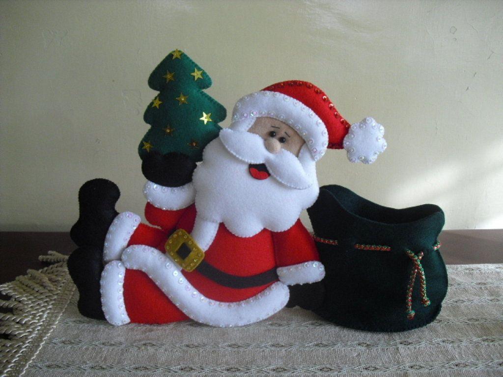 manualidades navide as en fieltro 2012 imagui navidad